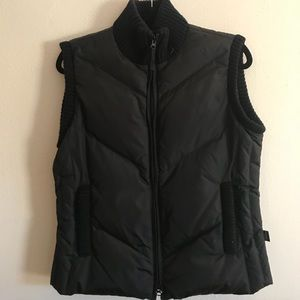 Jackets & Blazers - Black Puffy Vest
